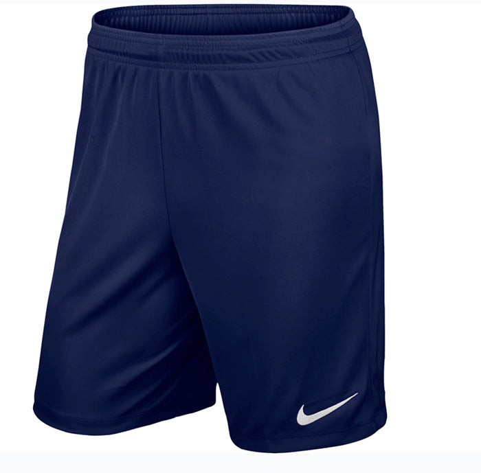 Park II Mens Knit Shorts-Navy