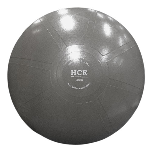 HCE 75cm Commercial Gym Ball - Grey_GA-3075-HC