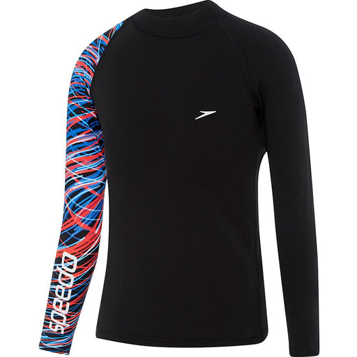 Speedo Boys Dissect Long Sleeve Sun Top