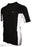 Speedo Mens Slim Fit Sun Top - Black/White_77N80/0024