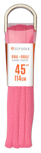 84871_Sof Sole 45 inches Oval Laces - Pink
