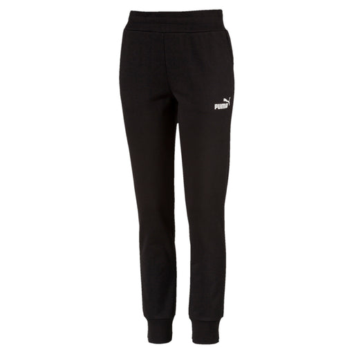 Puma Essentials Fleece Womens Sweat Pants - Cotton Black 851827_01