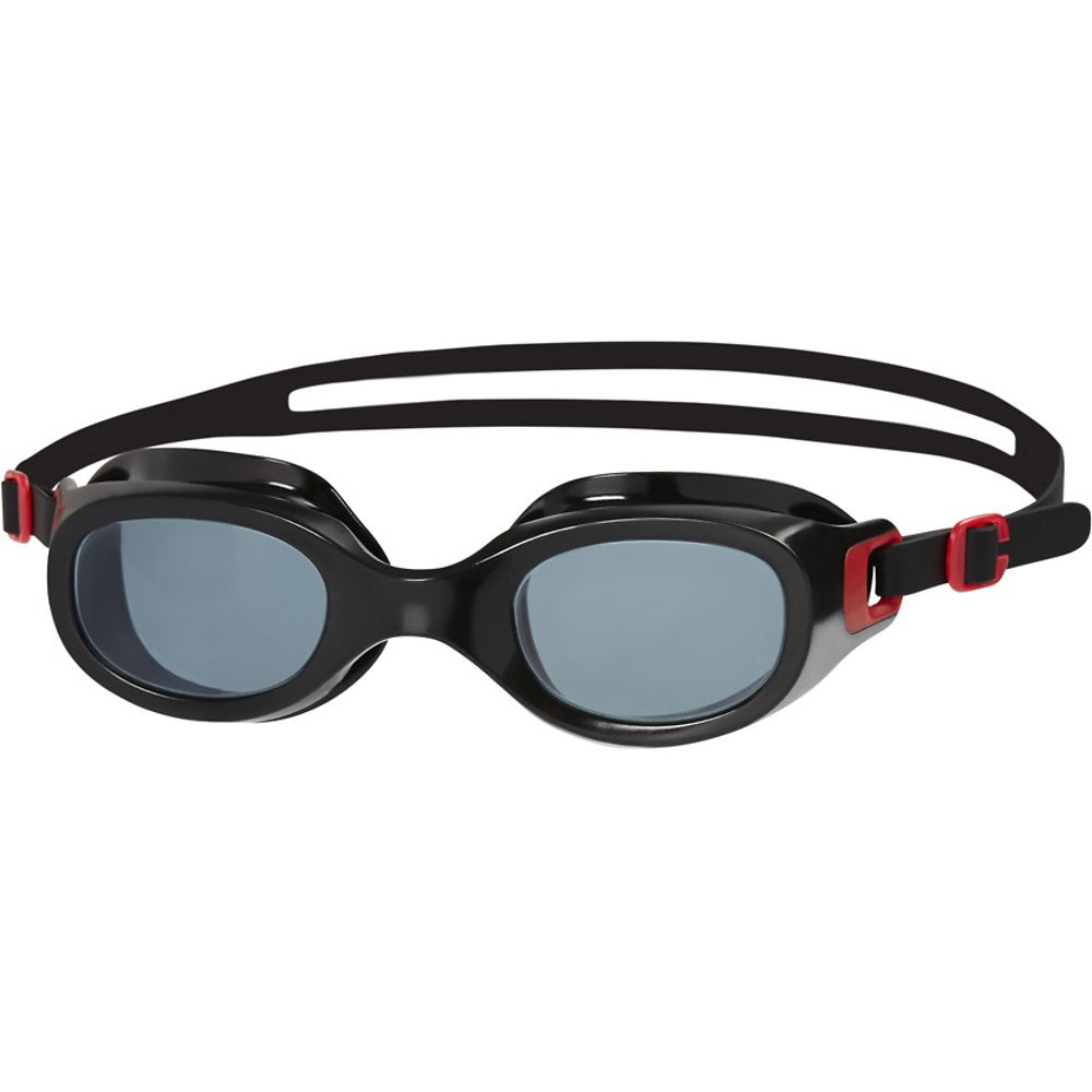 Speedo Futura Classic Goggles- Red/Smoke