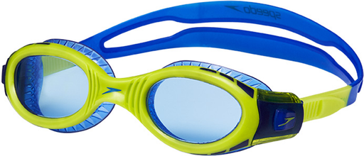Speedo Biofuse Futura Flexiseal Junior Goggles - Surf/Lime