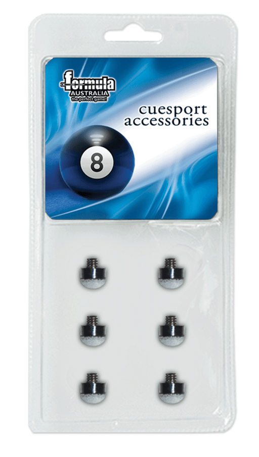 Formula Billiard Screw In Blue Tips
