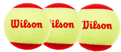 Wilson Starter 3 Pack Tennis Ball - Red