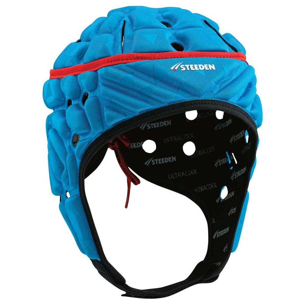 16969-BLU-JNR_Steeden Super Lite Jnr Headguard - Blue