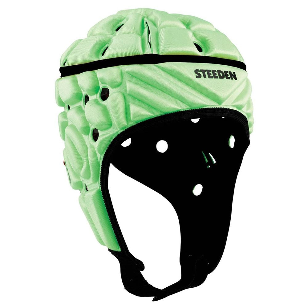 16969-LIM-M_Steeden Super Lite Medium Headguard - Lime