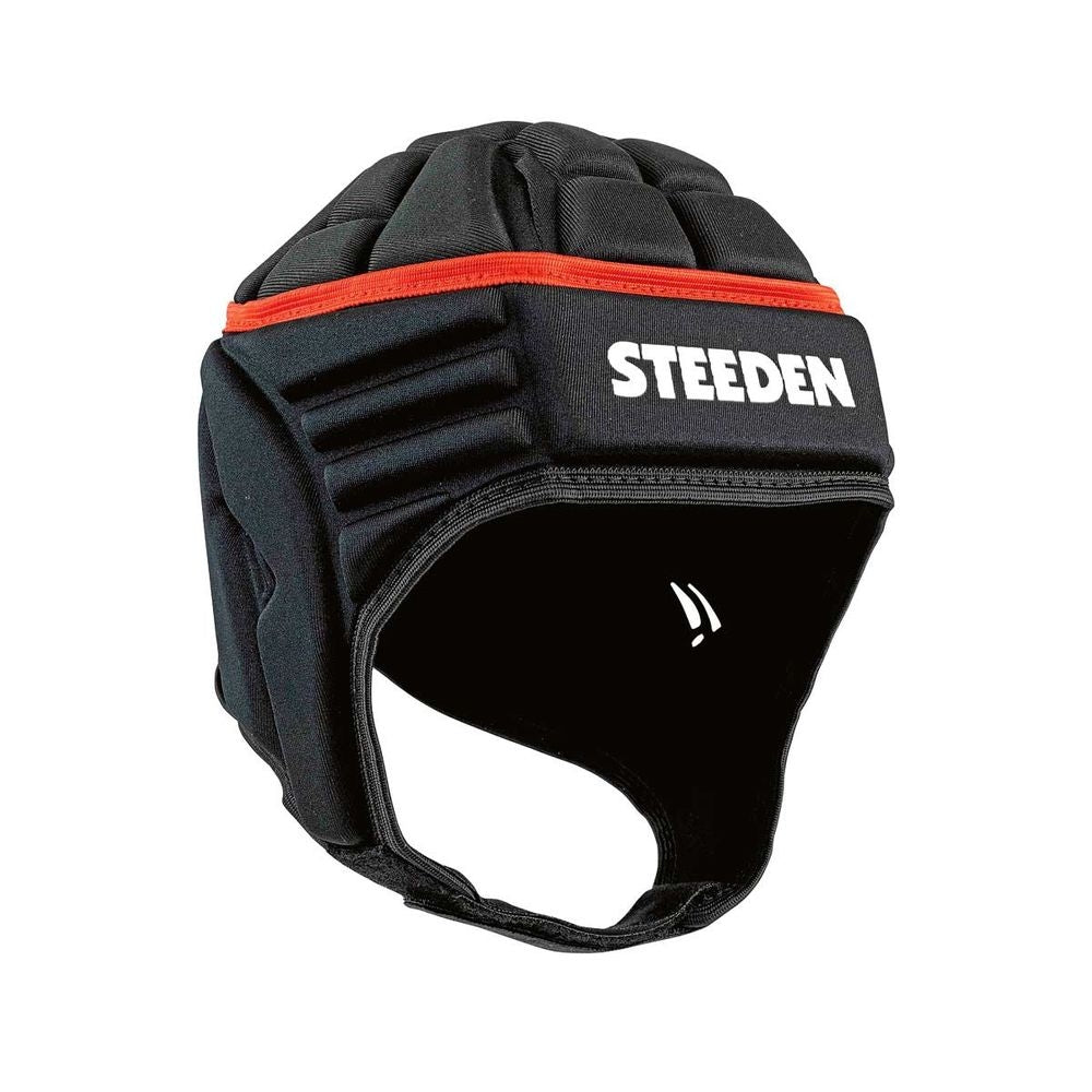 Steeden League Large Headgear - Black_17876-BLK-L