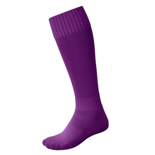 Cigno Alley Football Socks - Purple_SOAL-06