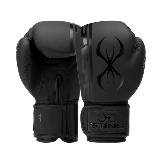 Sting Armaplus 12Oz Boxing Glove - Matte Black_SAGM-0113