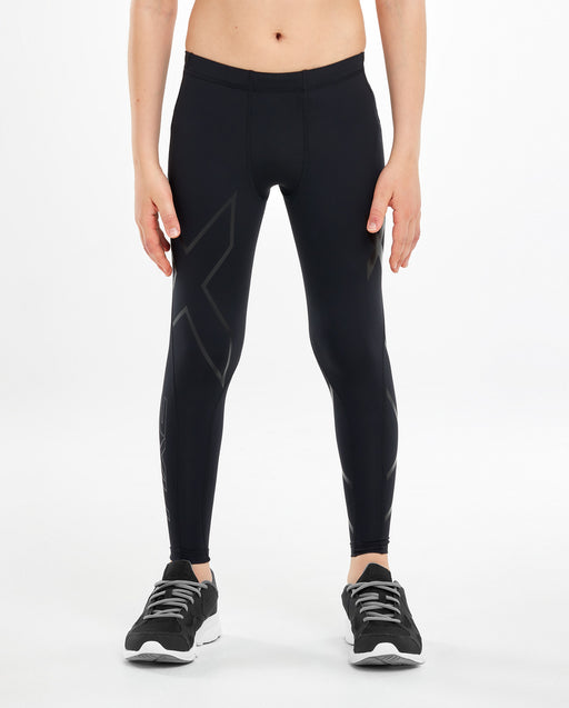 2XU Compression Tights Youth-Black/Nero_CA2549B BLK NRO