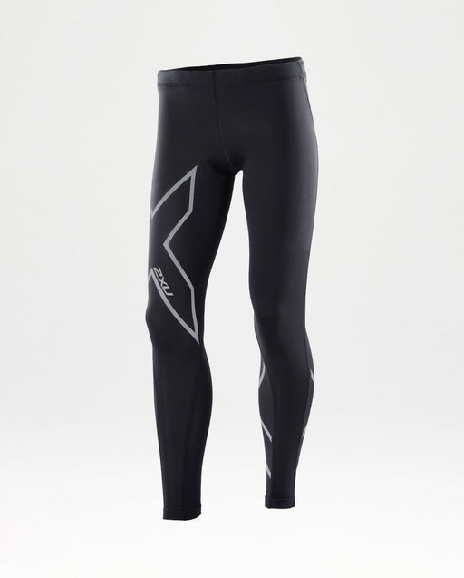 2XU Youth Girls Compression Tights_CA4158B BLK/SIL