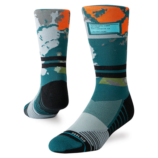 Stance Ashbury Medium Crew-Teal_M558C19ASC.TEAM