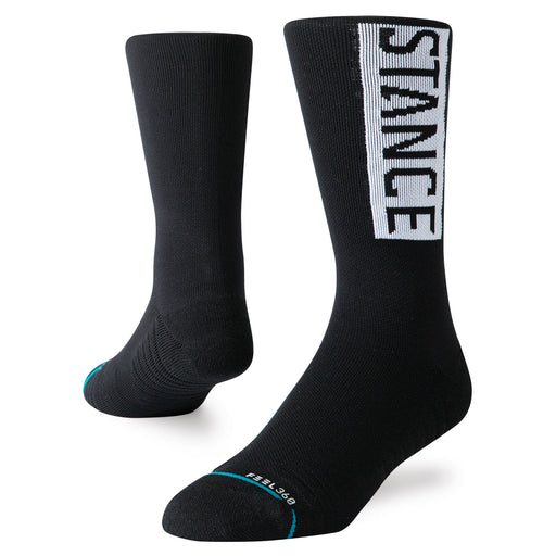 Stance OG Medium Train Crew-Black_M558C19OTC.BLKM