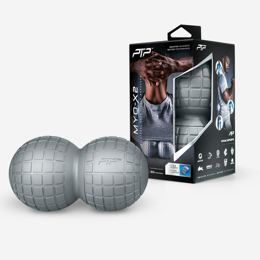 PTP MYO-X2 Back Massager - Sliver