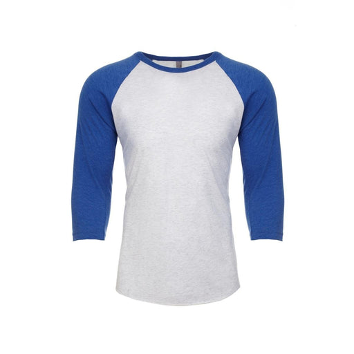 Legend Next Level Tri Blend 3/4 Raglan Baseball Tee- Royal_NL6051-VROY.HWH