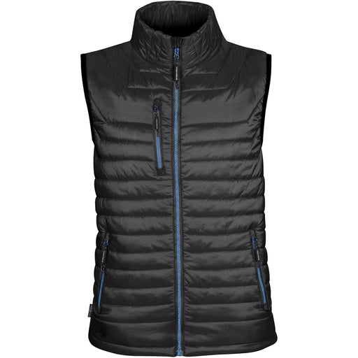Stormtech Gravity Mens Thermal Vest - Black/Marine Blue_PFV-2