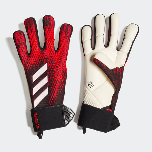 FH7297_Adidas Predator 20 Competition Goalkeeper Gloves- Black