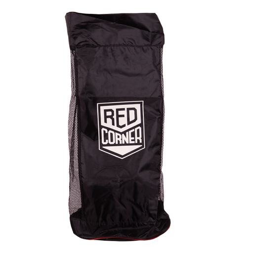 Red Corner Nylon Carry Bag