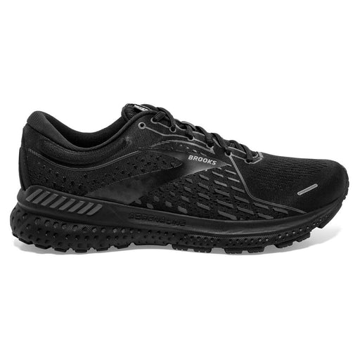 Brooks Adrenaline Gts 21 D Mens Running Shoe - Black/Black/Ebony