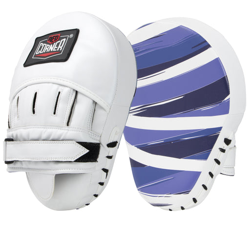 Red Corner Boxing Spar Focus Pads - Stripes Blue_S002160