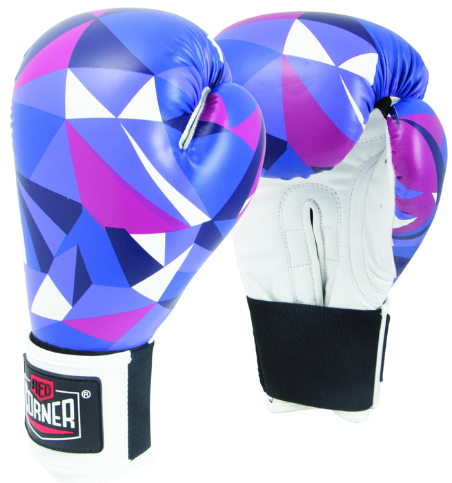 RCB Spar Boxing Gloves - Shattered Blue