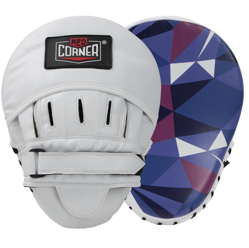 Red Corner Boxing Spar Focus Pads - Shattered Blue_S002164