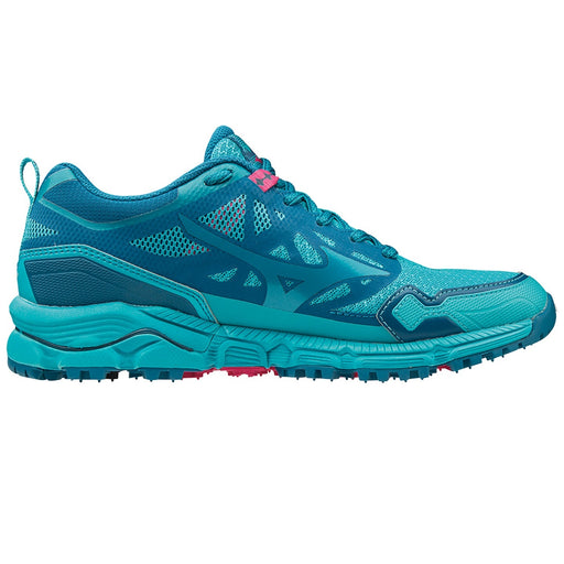 Mizuno Wave Daichi 4 Womens Trail Running Shoe - Peacock Blue_J1GK197126