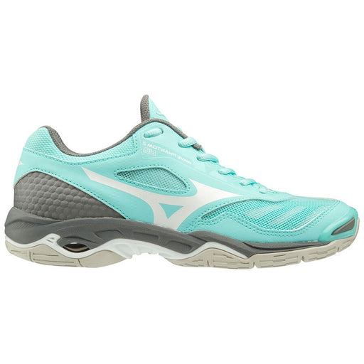 Mizuno Wave Phantom 2 B Senior Netball Shoe - Blue