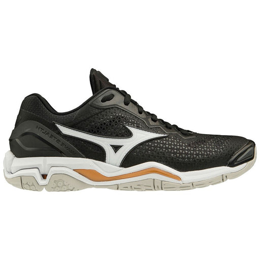 Mizuno Wave Stealth V B Senior Netball Shoe - Black/White