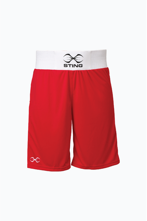 Sting S Mettle Boxing Short - Red
