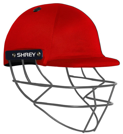 Shrey Performance 2.0 Junior Helmet Fixed Grill - Red