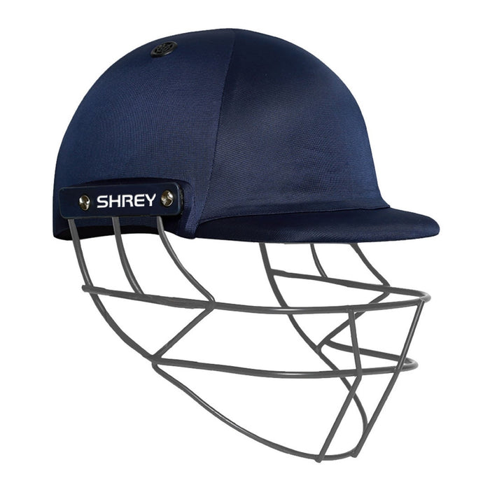 Shrey Performance 2.0 JNR Helmet With Fixed Grill - Navy_CSHPM205 J