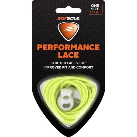 SS488998_Sof Sole Performance Quick Tie 38in Laces - Neon Yellow