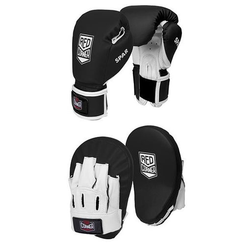 Red Corner Boxing Spar Junior Focus Kit - Black_S001868