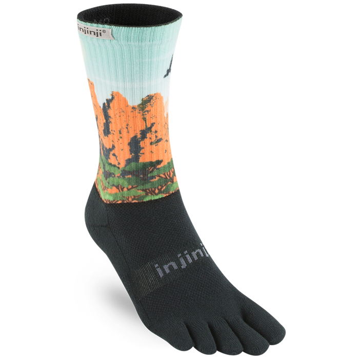 Injinji Trail 2.0 Midweight Crew Socks - Three Sisters (Small)_213170TSI-SMALL