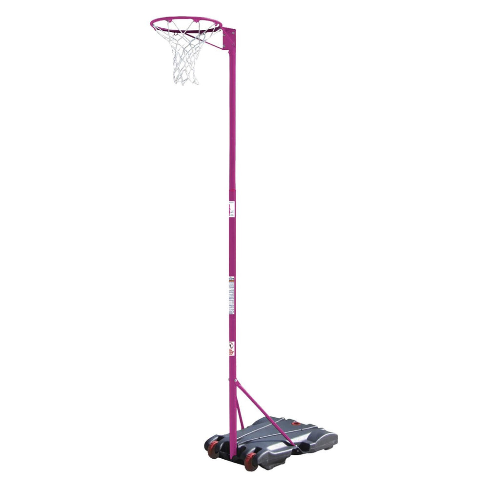 Alliance Deluxe Water-Base Netball Stand - Pink NBAST17
