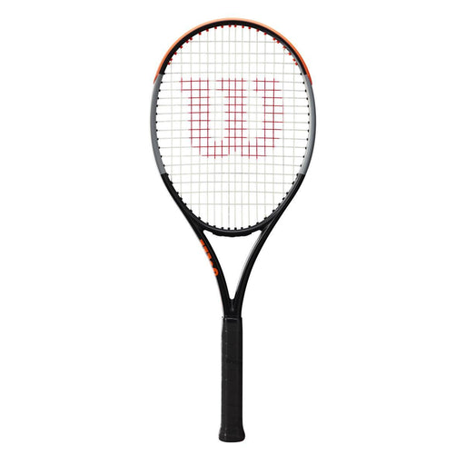 Wilson Burn 100LS v4 Tennis Racquet - Black/Orange_WR044910U1