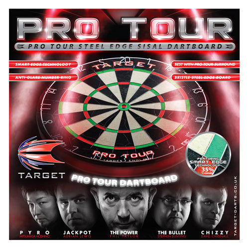 Formula Phil Taylor Power Board Dartboard