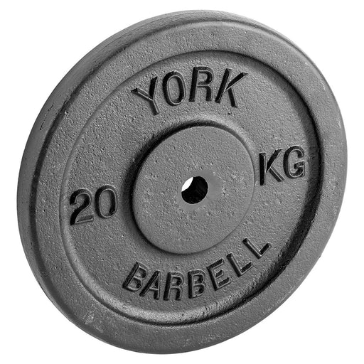 York 20kg Cast Iron Weight Plate