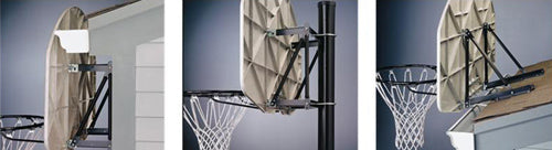 Spalding Basketball Universal Mounting Bracket
