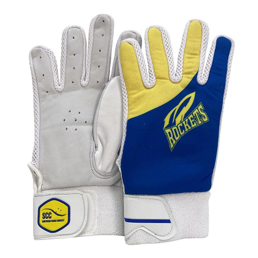 SCC ACT Rockets Traditional Indoor Cricket Glove - Blue_SCC100ACT