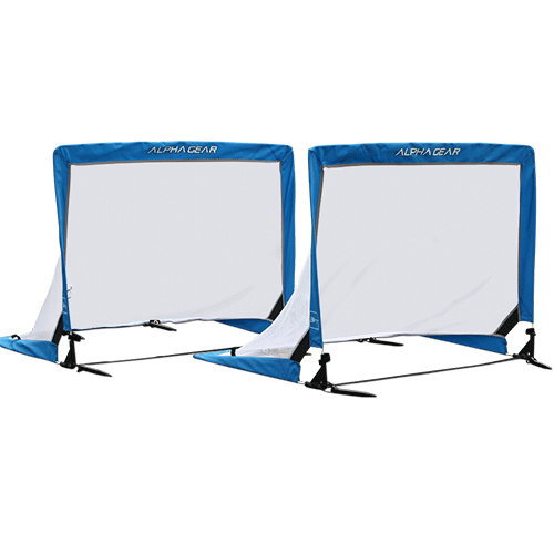 Alpha Gear Square 3Ft Pop Up Goals - 2 in one carry bag