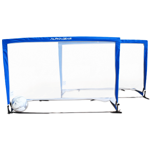 Alpha Gear Square 5Ft Pop Up Goals - 2 in one carry bag