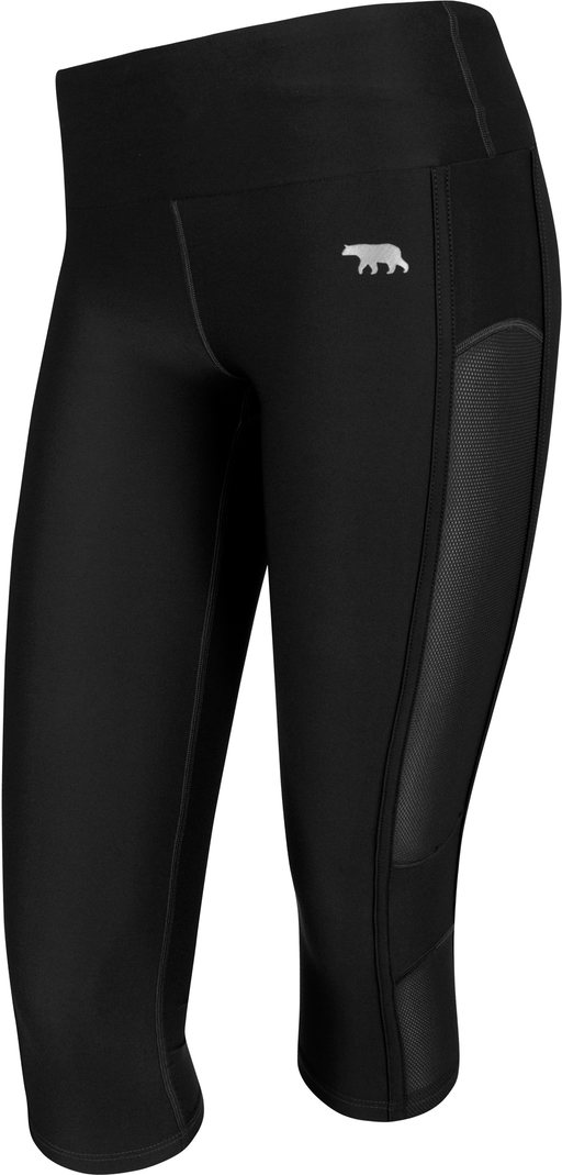 Running Bare Womens High Rise In The Zone 3/4 Tight_B15275A
