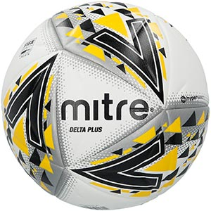 Delta Plus Pro Match Soccer Ball - White