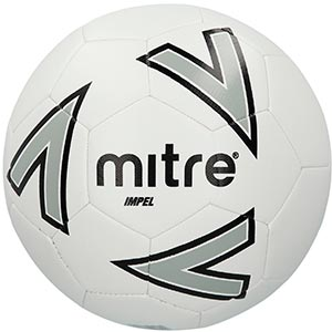 Mitre Impel Training Soccer Ball - White_BB1118WIL