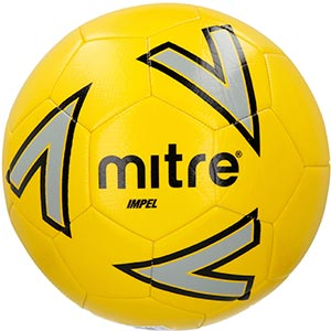 Mitre Impel Training Soccer Ball - Yellow