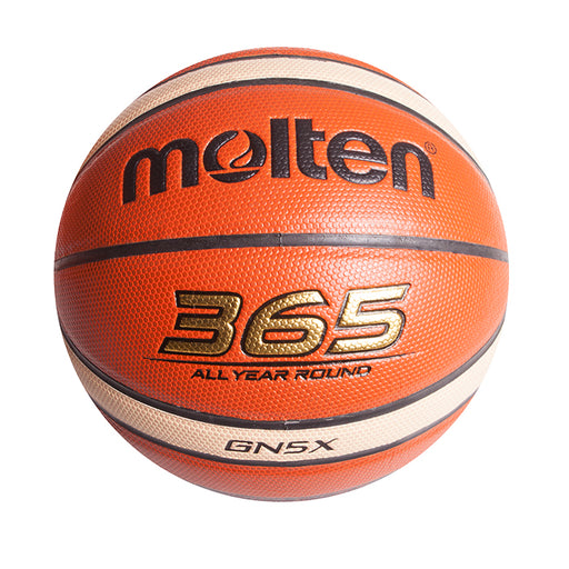 Molten Composite Leather Size 5 Indoor/Outdoor B/ball - Org/Ivory_MB BGN5X